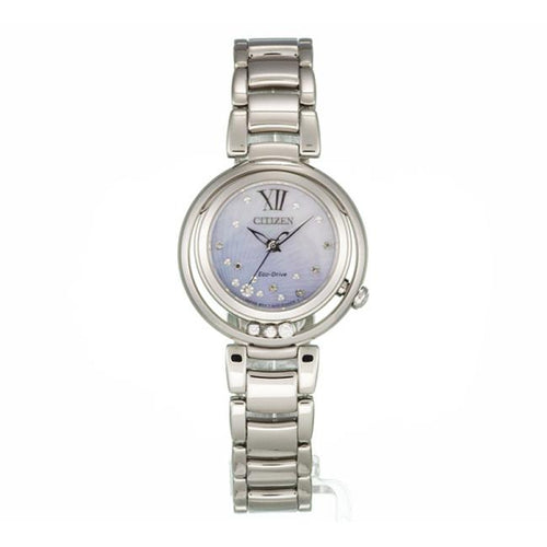 Ladies Citizen Katherine Jenkins Eco-Drive Sunrise Stainless Steel Bracelet Watch