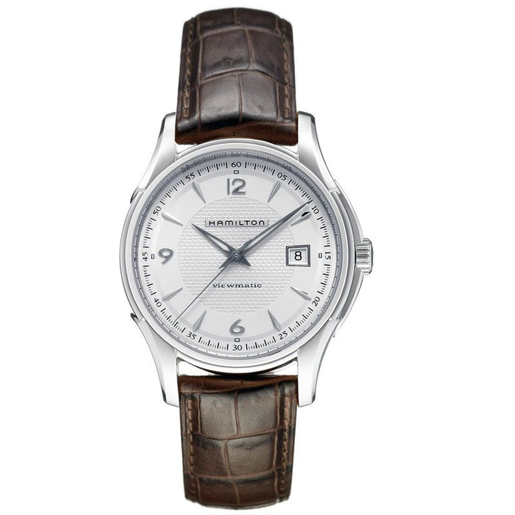 Hamilton Jazzmaster Viewmatic Automatic Leather Strap Watch, H32515555