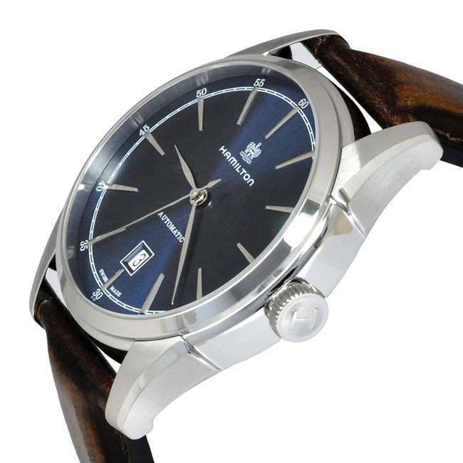 Hamilton American Classic Spirit of Liberty Automatic Leather Strap Watch