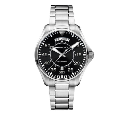 Hamilton Khaki Aviation Pilot Day Date Automatic Bracelet Watch, H64615135
