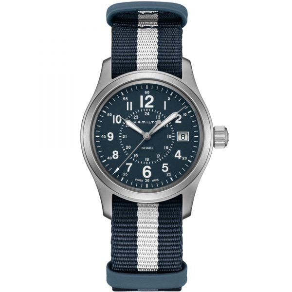Hamilton Khaki Field Quartz Fabric Strap Watch, H68201043