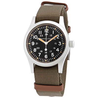 Hamilton Khaki Field Mechanical Nato Fabric Strap Watch, H69439931