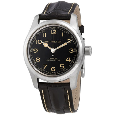 Hamilton Khaki Field Murph Automatic Leather Strap Watch, H70605731