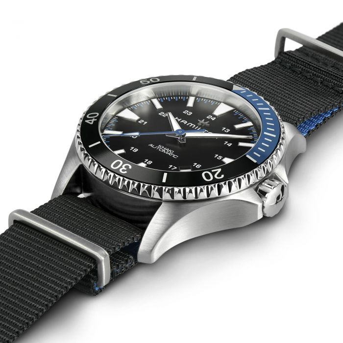 Hamilton Khaki Navy Scuba Automatic Fabric Strap Watch, H82315931