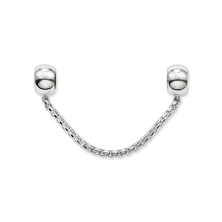 Thomas Sabo Sterling Silver Karma Bead Safety Chain KS0004-585-12