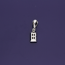 9ct White Gold and Diamond Pendant