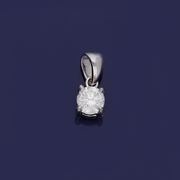 Platinum 0.29ct Diamond Pendant