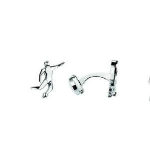 Links of London Sale – Sterling Silver Football Pictogram T-Bar Cufflinks - 2012 Olympic Collection