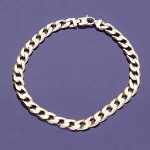 9ct Curb Chain Bracelet