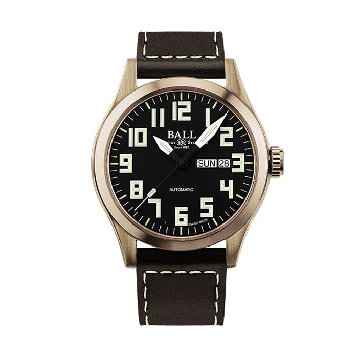 BALL Watch Engineer III, Bronze Star Automatic Strap Watch