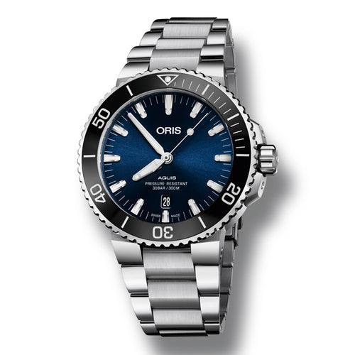Oris Aquis Date Automatic Men's Bracelet Watch, 733-7730-4135
