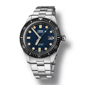 Oris Divers Sixty-Five Automatic Men's Bracelet Watch, 733-7720-4055