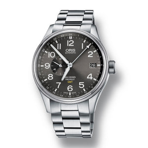 Oris Big Crown ProPilot GMT, Small Second Automatic Men's Bracelet Watch, 748-7710-4063