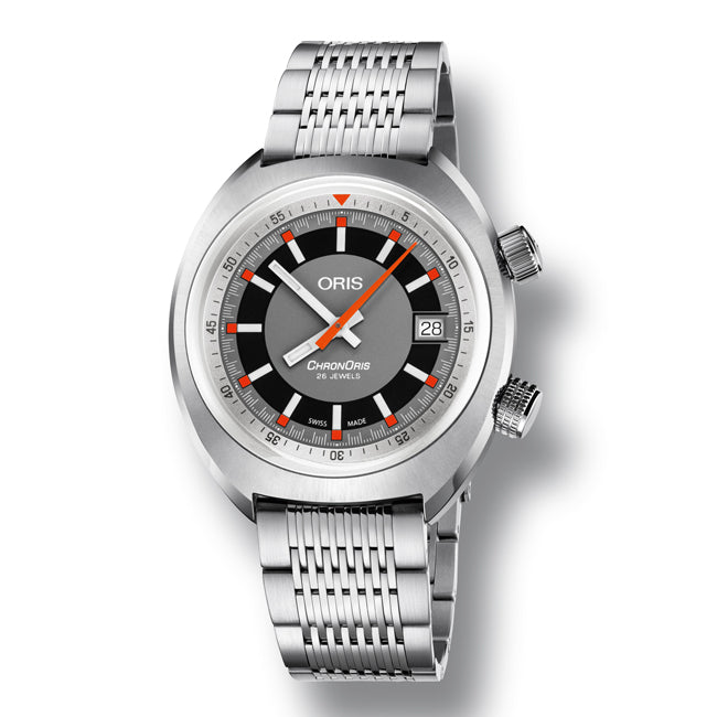 Oris Chronoris Date Automatic Men's Bracelet Watch, 733-7737-4053