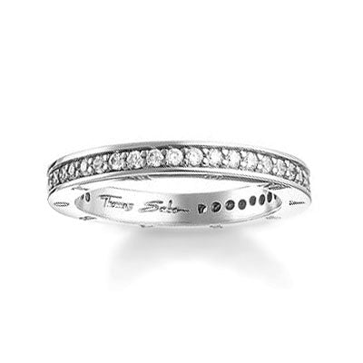 Thomas Sabo Narrow Band Ring TR1700-051-14