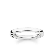 Thomas Sabo Plain Band Ring TR1979-001-12