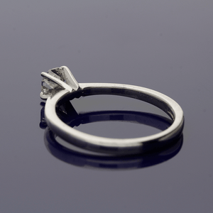 18ct White Gold and Diamond Solitaire Ring