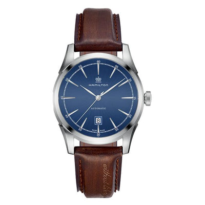 Hamilton American Classic Spirit of Liberty Automatic Leather Strap Watch, H42415541