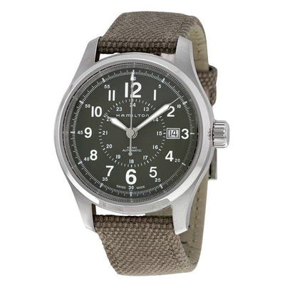 Hamilton Khaki Field Automatic Fabric Strap Watch, H70595963