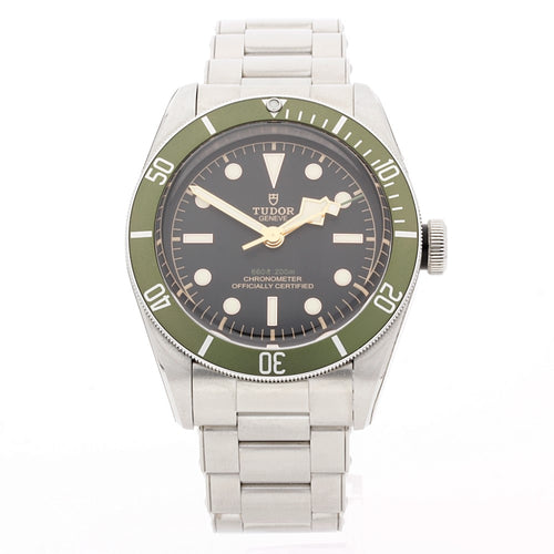 Gents Tudor 79230G. Unworn Harrods Special Edition Heritage Black Bay Divers Watch