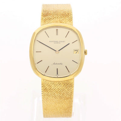 Gents Vintage 18ct Yellow Gold Audemars Piguet Automatic Dress Watch,