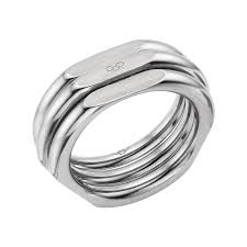 Links of London Sterling Silver 20/20 Ring, 5045.2565