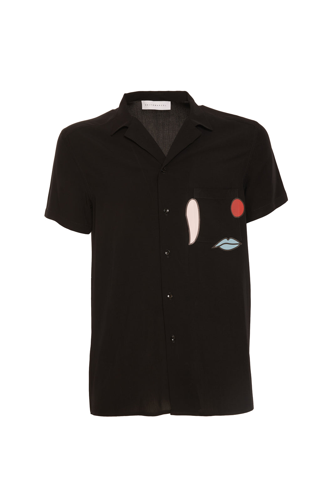 Viscose bowling shirt