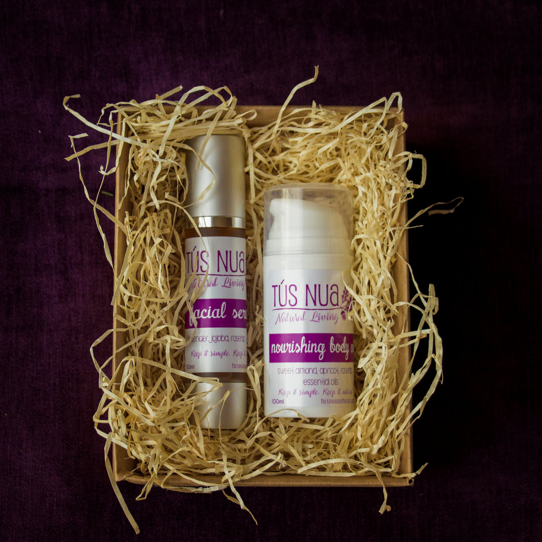 The Oil Set - facial oil & body oil