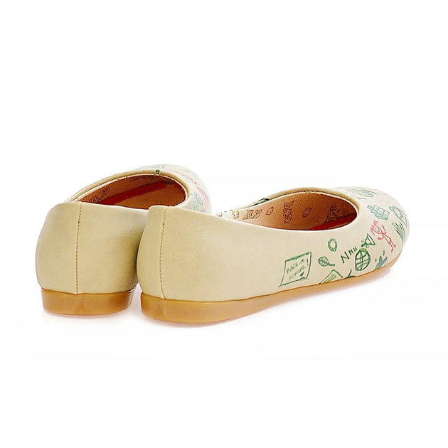 Back to School Ballerinas Shoes 1007