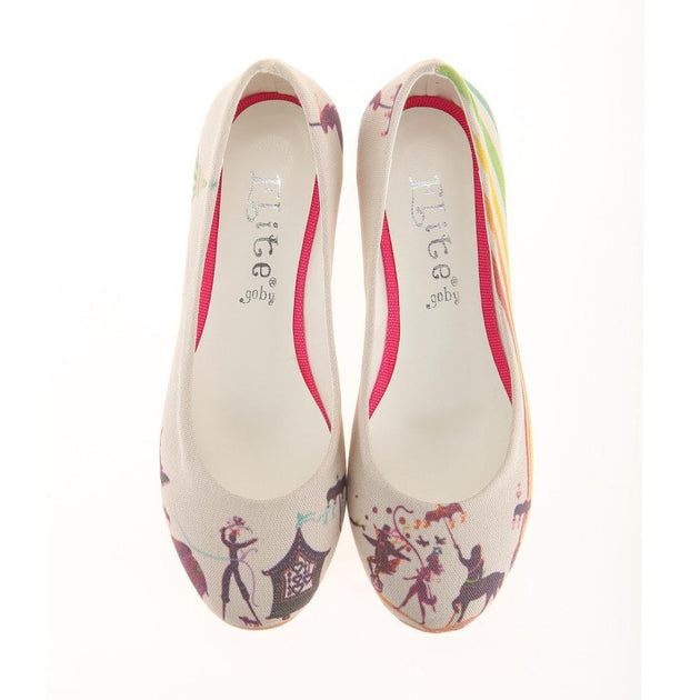 Circus Ballerinas Shoes 1108