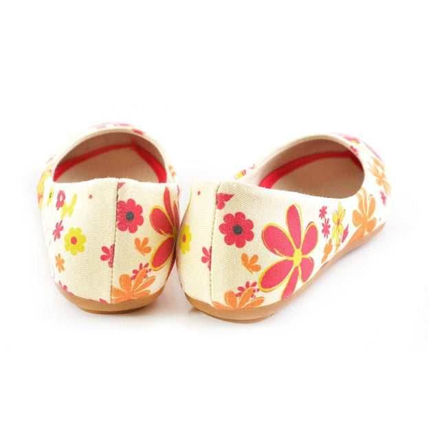 Flowers Ballerinas Shoes 1110