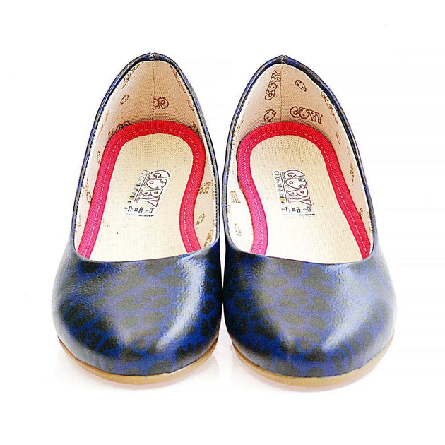 Blue Leopard Ballerinas Shoes 2003