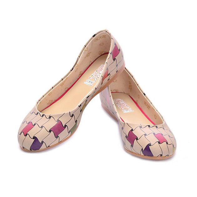 Pattern Ballerinas Shoes 2017