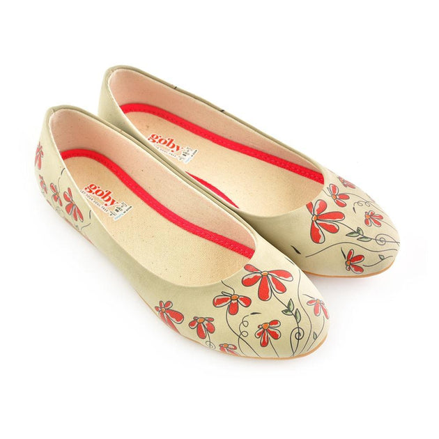 Flowers Ballerinas Shoes 2025