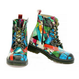 Broken Colors Glasses Long Boots AMAR111, Goby, ALASKA Long Boots