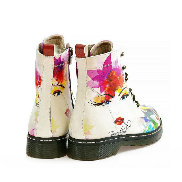 Beauty Girl Long Boots AMAR113, Goby, ALASKA Long Boots
