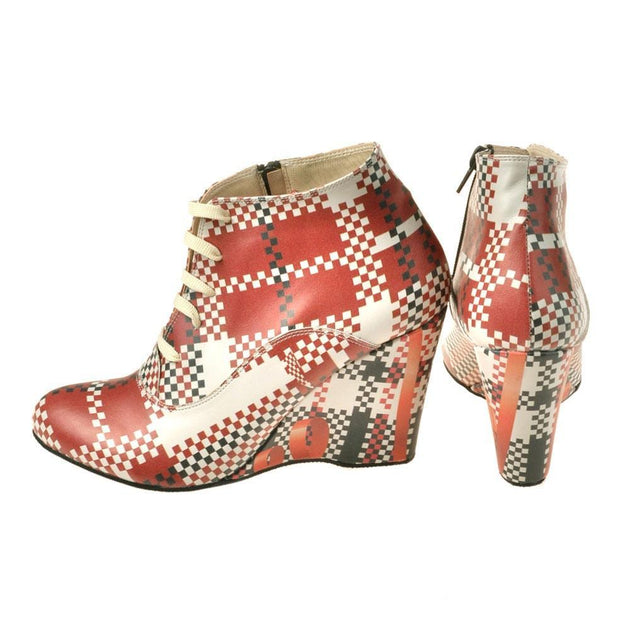 Squares Ankle Boots BT201