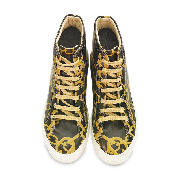 GOBY Chains Sneaker Boots CW2021 Women Sneaker Boots Shoes - Goby Shoes UK