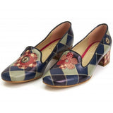 Goby DB111 Square Women Mary Jane Shoes - Goby Shoes UK