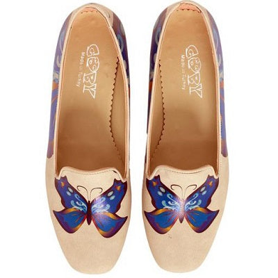 Goby DB112 Butterfly Women Mary Jane Shoes - Goby Shoes UK