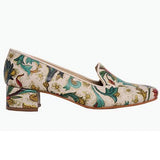 Goby DB115 Flowers Women Mary Jane Shoes - Goby Shoes UK