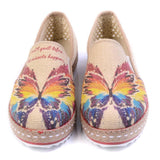 Butterfly Slip on Sneakers Shoes DEL105, Goby, GOBY Slip on Sneakers Shoes