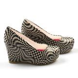 Pattern Heel Shoes DLG5116