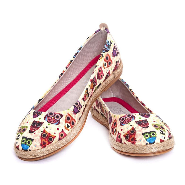 Owls Ballerinas Shoes FBR1181