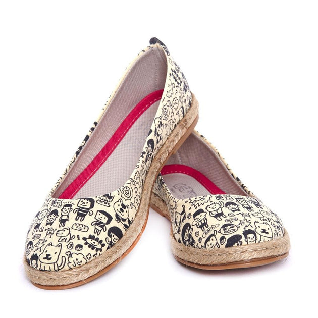 GOBY Community Ballerinas Shoes FBR1192 Women Ballerinas Shoes - Goby Shoes UK