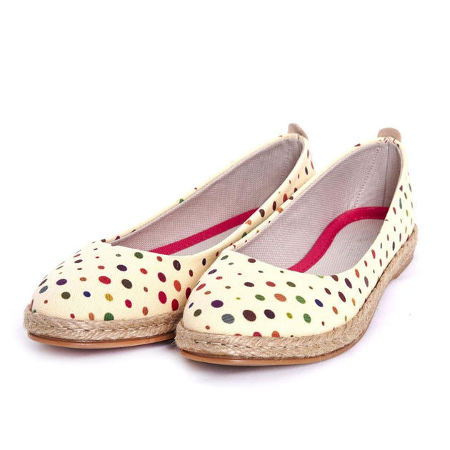 Spotted Ballerinas Shoes FBR1195