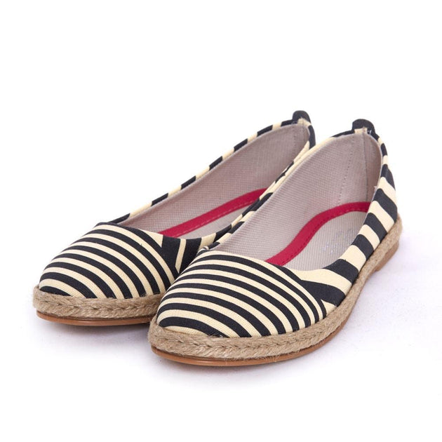 Striped Ballerinas Shoes FBR1199