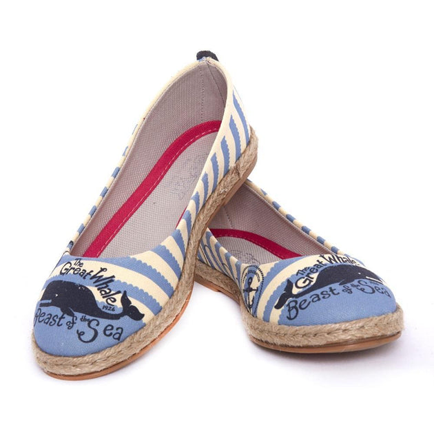 GOBY Great Whale Ballerinas Shoes FBR1200 Women Ballerinas Shoes - Goby Shoes UK