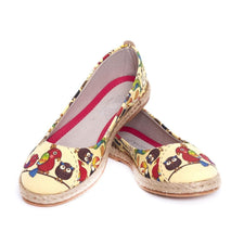 GOBY Animals Ballerinas Shoes FBR1206 Women Ballerinas Shoes - Goby Shoes UK