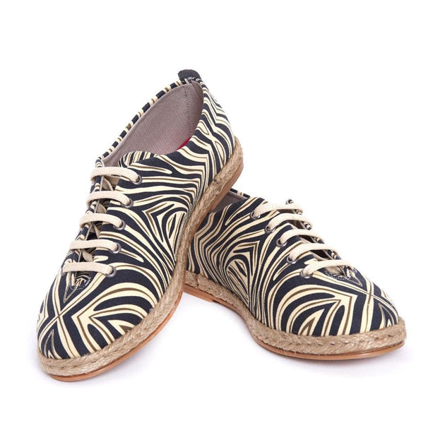 Zebra Style Ballerinas Shoes FBR1222